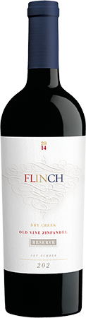 2014 FLINCH Old Vine Zinfandel, Dry Creek Sonoma